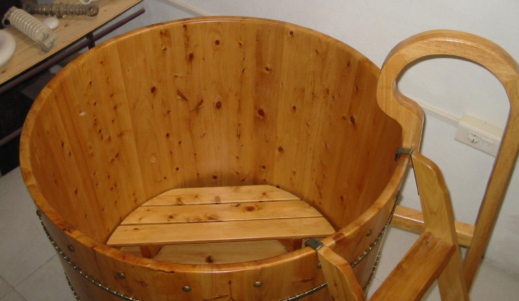 Ba era de madera de cedro de importaci n modelo tianjin for Baneras antiguas con patas baratas
