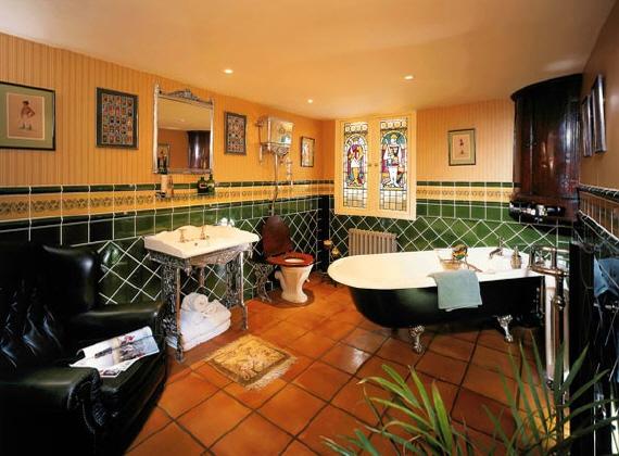 Baños Estilo Antiguo:Decoracion De Banos Rusticos